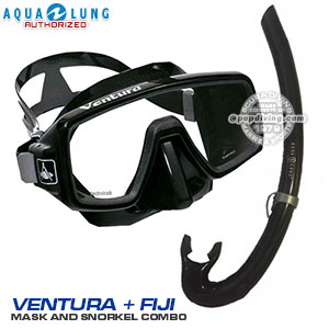 Freebreath full face snorkeling mask and snorkel